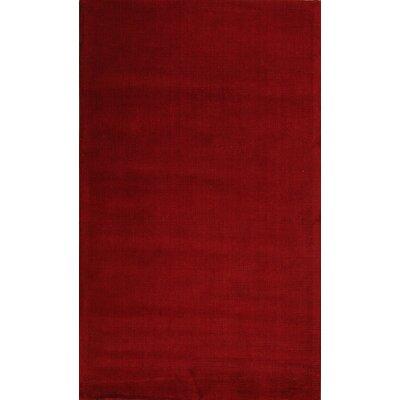 Verde Red Rug Rug Size: 5 x 8