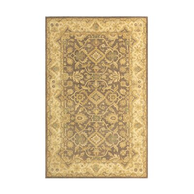 Windsor Brown/Sand Area Rug Rug Size: 3 x 5