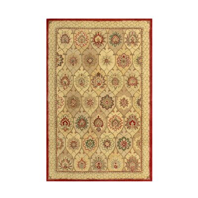 Windsor Tan Area Rug Rug Size: 36 x 56