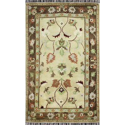 Hand-Tufted Gold Area Rug