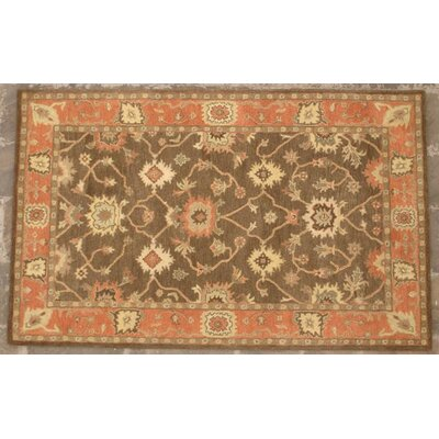Aberdeen Coffee Area Rug Rug Size: Rectangle 8 x 11