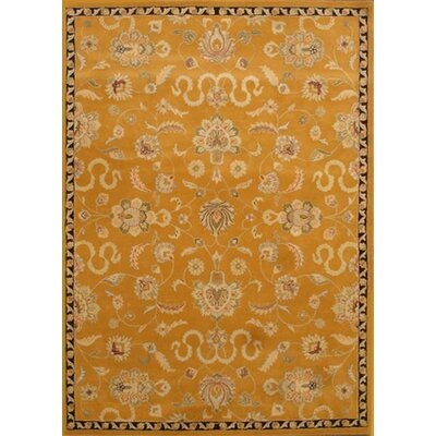 Aberdeen Gold Area Rug Rug Size: Rectangle 9 x 13
