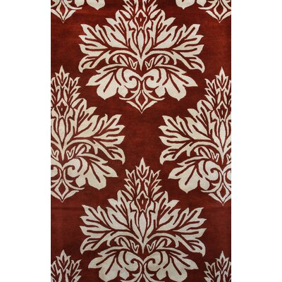 Andorra Red Area Rug Rug Size: 8 x 11