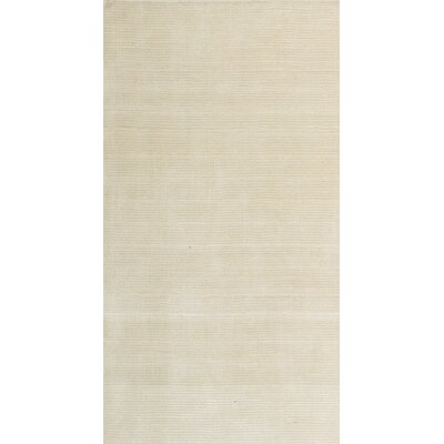 Ashlee Hand-Woven/Hand-Tufted Wool Ivory Area Rug Rug Size: Square 16