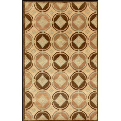 Hugo Brown Area Rug Rug Size: 2 x 3
