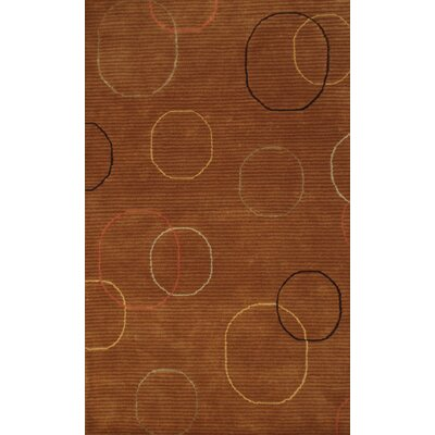 Lucas Brown Rug Rug Size: Rectangle 5 x 8