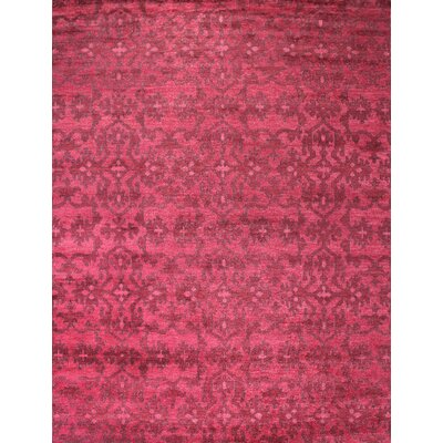 Medallion Red Rug Rug Size: 2 x 3