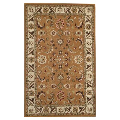 Nina Rust Area Rug Rug Size: Rectangle 4 x 6