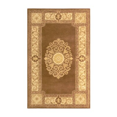 Nova Brown Area Rug Rug Size: 3 x 5