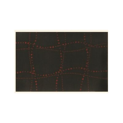 Sway Black Rug Rug Size: Rectangle 79 x 99