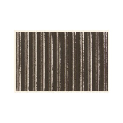 Sway Brown Rug Rug Size: Square 16