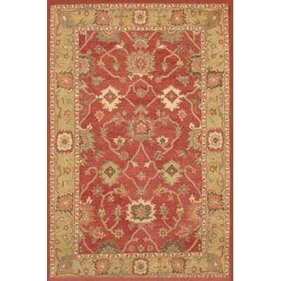 Aberdeen Rust Area Rug Rug Size: 8 x 11