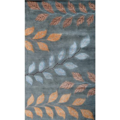 Andorra Light Blue Area Rug Rug Size: Rectangle 36 x 56