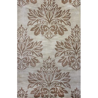 Andorra Ivory Area Rug Rug Size: Square 16