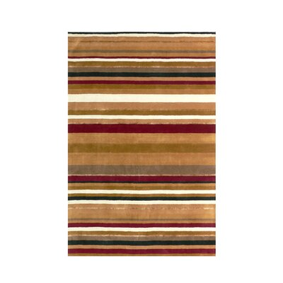 Ashlee Striped Area Rug Rug Size: Square 16