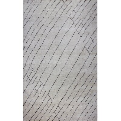 Bay Arbor Hand-knotted Natural Area Rug Rug Size: Rectangle 2 x 3