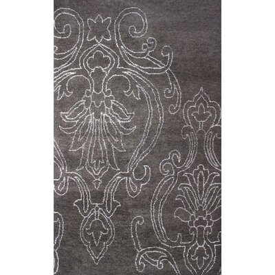 Bay Arbor Hand-Knotted Area Rug Rug Size: Rectangle 5 x 8