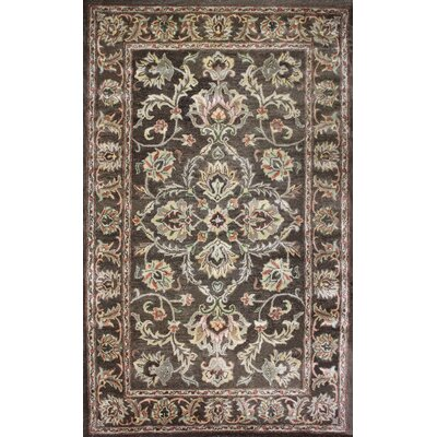 Broadway Hand-Tufted Brown Area Rug Rug Size: 4 x 6