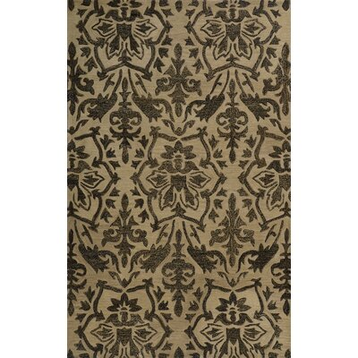 Brucelyn Gold Area Rug Rug Size: Rectangle 2 x 3