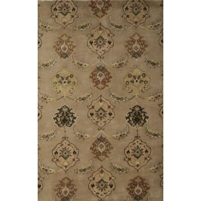 Brucelyn Beige Area Rug Rug Size: Rectangle 5 x 8