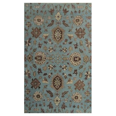 Brucelyn Blue Area Rug Rug Size: 36 x 56
