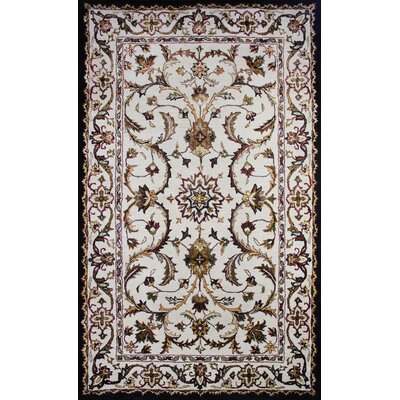 Cairo Ivory Area Rug Rug Size: 5 x 8
