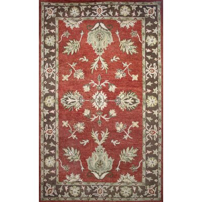 Cairo Red/Brown Area Rug Rug Size: 8 x 11