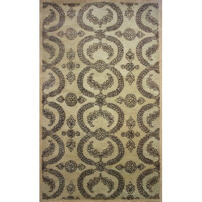 Cairo Gold Area Rug Rug Size: 5 x 8