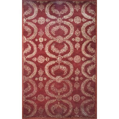 Cairo Red Area Rug Rug Size: 5 x 8
