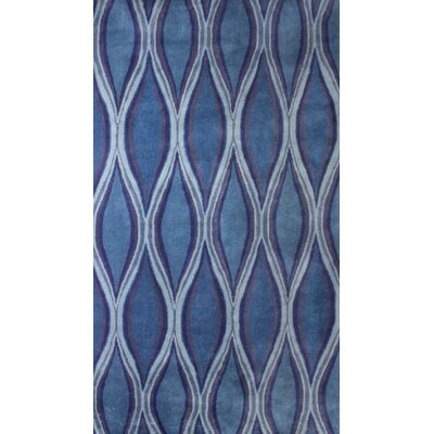 Chelsea Blue Area Rug Rug Size: Rectangle 5' x 8'