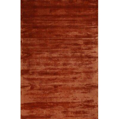 Dwelling Rust Area Rug Rug Size: 5 x 8