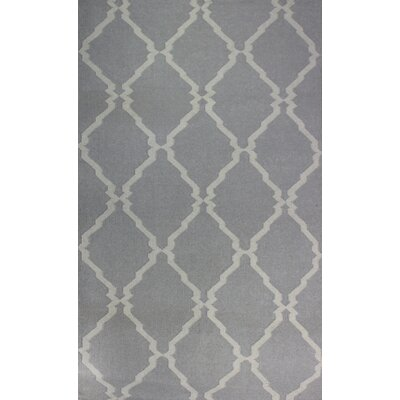 Flat Weave Brown Area Rug Rug Size: 5 x 8