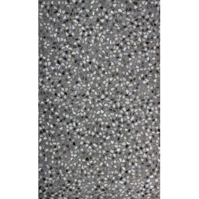 Hair Hyde Gray Area Rug Rug Size: 5 x 8