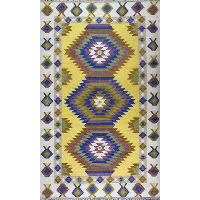 Yother Diamond Rug Rug Size: 5 x 8