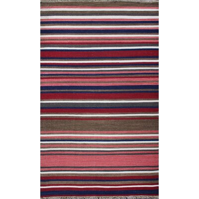 Kilim Multi-colored Rug Rug Size: 2 x 3