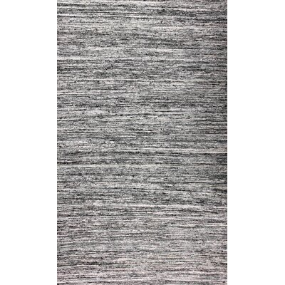 Moorer Grey Rug Rug Size: Rectangle 5 x 8