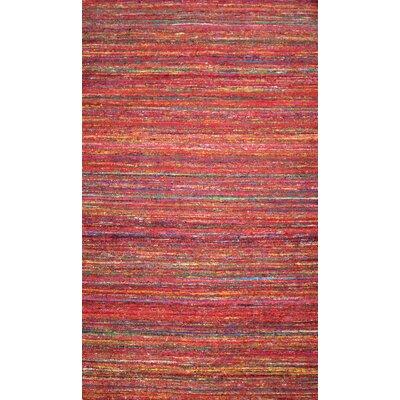 Kilim Red Area Rug Rug Size: 8 x 11