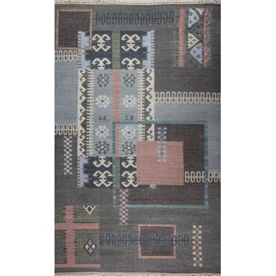 Tomasello Hand-Woven Area Rug Rug Size: Rectangle 5 x 8