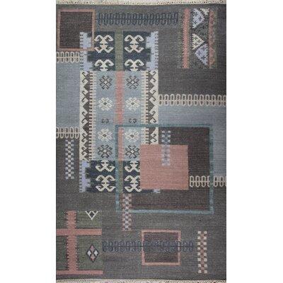 Tomasello Hand-Woven Area Rug Rug Size: Rectangle 76 x 96