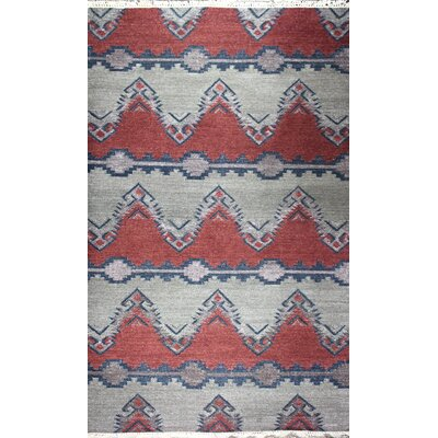 Yother Hand-Woven Earth Area Rug Rug Size: 5 x 8