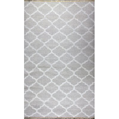 Washington Mews Hand-Woven Area Rug Rug Size: 8 x 11