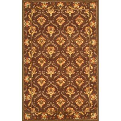 Lesnoy Brown Rug Rug Size: 8 x 11