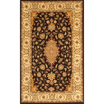 Lesnoy Black Rug Rug Size: Rectangle 5 x 8