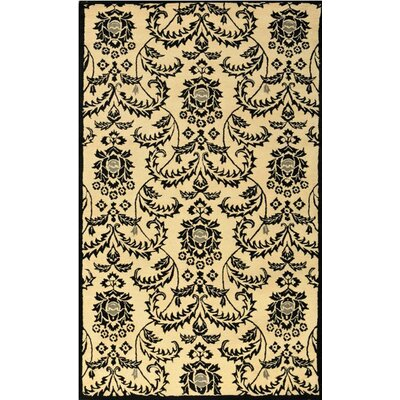 Lilly Ivory Rug Rug Size: Rectangle 5 x 8