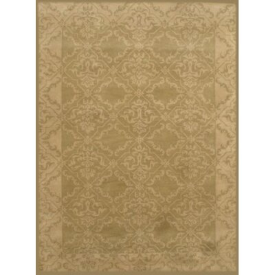 Lilly Light Green Rug Rug Size: 2 x 3
