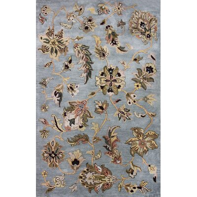 Lima Blue Rug Rug Size: Rectangle 5 x 8