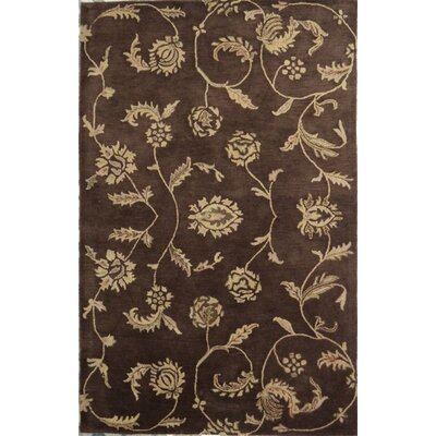 Lima Brown Rug Rug Size: Square 16