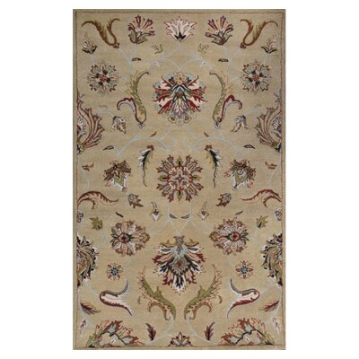Lima Green Rug Rug Size: Rectangle 8 x 11