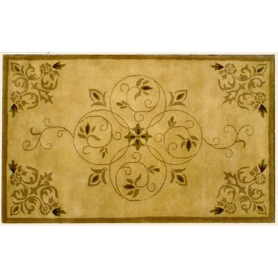 Lucas Beige Rug Rug Size: Rectangle 5 x 8