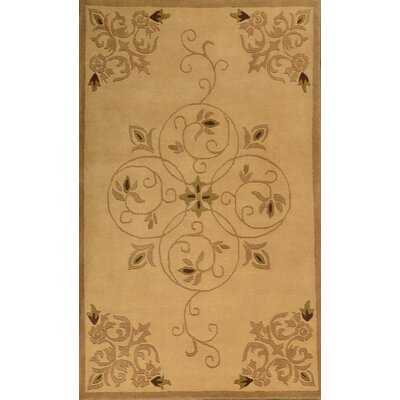 Lucas Beige Rug Rug Size: Rectangle 79 x 99